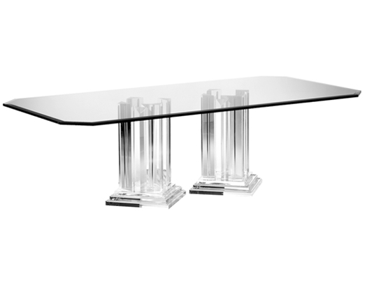 Andorra Dining Base Pair 6024E - Dining Tables - Spectrum Collection