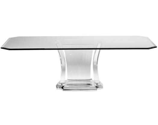 Jerusalem Dining Base 6104R - Dining Tables - Spectrum Collection