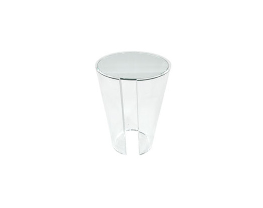 Conic Pedestal - Acrylic Side Tables - Spectrum West