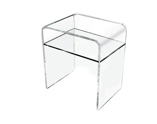 Simple Side Table - Acrylic Side Tables - Spectrum West