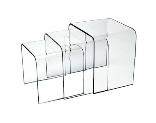 Try Tables - Acrylic Side Tables - Spectrum West