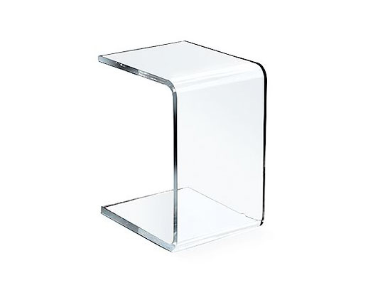 You Sofa - Acrylic Side Tables - Spectrum West
