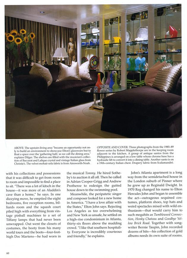 Architectural Digest 1993 Interior