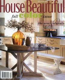House Beautiful September 2008 Cover - Spectrum Collection